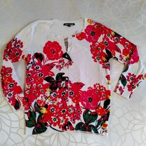 Beautiful Cable and Gauge button-up sweater size S